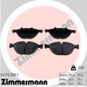 Тормозные колодки ZIMMERMANN 24172.200.1