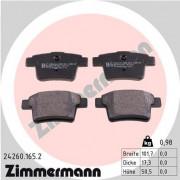 Тормозные колодки ZIMMERMANN 24260.165.2