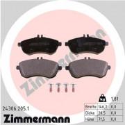 Тормозные колодки ZIMMERMANN 24306.205.1