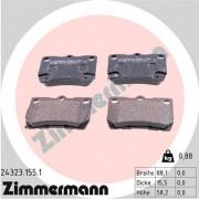 Тормозные колодки ZIMMERMANN 24323.155.1