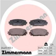 Тормозные колодки ZIMMERMANN 24451.155.1