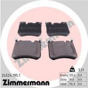 Тормозные колодки ZIMMERMANN 24524.195.1