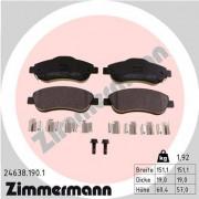 Тормозные колодки ZIMMERMANN 24638.190.1