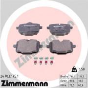 Тормозные колодки ZIMMERMANN 24703.175.1