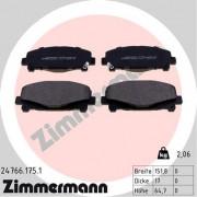 Тормозные колодки ZIMMERMANN 24766.175.1