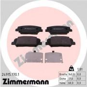 Гальмівні колодки ZIMMERMANN 24915.170.1