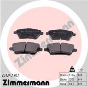 Тормозные колодки ZIMMERMANN 25134.170.1