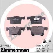 Тормозные колодки ZIMMERMANN 25199.195.1