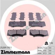 Тормозные колодки ZIMMERMANN 25209.170.1