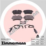 Тормозные колодки ZIMMERMANN 25214.175.3