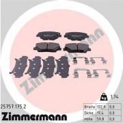 Тормозные колодки ZIMMERMANN 25757.175.2