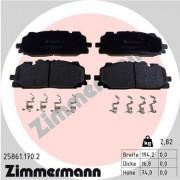 Гальмівні колодки ZIMMERMANN 25861.170.2