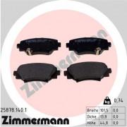 Гальмівні колодки ZIMMERMANN 25878.140.1
