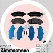 Тормозные колодки ZIMMERMANN 25979.170.1