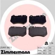 Тормозные колодки ZIMMERMANN 25997.185.1