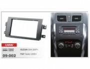 Переходная рамка Carav 09-002 Suzuki SX4 (2007+), Fiat Sedici (2005+), 2 DIN