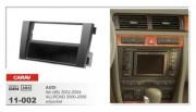 Переходная рамка Carav 11-002 Audi A6 (4B) 2002-2004, Allroad 2000-2006, 2 DIN / 1 DIN