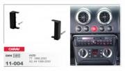 Переходная рамка Carav 11-004 Audi TT (8N) 1998 - 2006, 1 Din