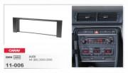 Переходная рамка Carav 11-006 Audi A4 (B6) 2000 - 2006, 1 Din