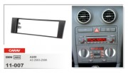 Carav Переходная рамка Carav 11-007 Audi A3 (8p/8pa) 2003 - 2008, 1 Din