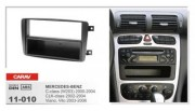 Carav Переходная рамка Carav 11-010 Mercedes-Benz C-class (W203) (2000-2004) / CLK-class (2002-2004) / Vito, Viano (2003-2006), 1DIN
