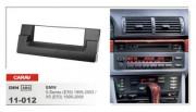 Переходная рамка Carav 11-012 BMW 5-Series (E39) 1995-2003, X5 (E53) 1999-2006, 1 DIN
