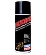 Синтетическая цепная смазка для мотоциклов Liqui Moly Motorrad Kettenspray Grand Prix Orange (аэрозоль 0,23л)