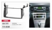 Переходная рамка Carav 11-038 Toyota Corolla (2001 - 2006), 2 DIN