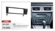 Переходная рамка Carav 11-052 BMW 3-Series (E90, E91, E92, E93) 2004+, 1-Series (E87, E82, E88) 2004+, 1 DIN