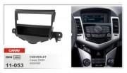 Переходная рамка Carav 11-053 Chevrolet Cruze 2009+, 1 DIN
