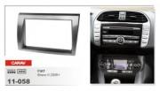 Переходная рамка Carav 11-058 Fiat Bravo II 2006+, 2 DIN