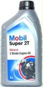 Мотоциклетное моторное масло Mobil Super 2T (1л)