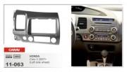 Переходная рамка Carav 11-063 Honda Civic 4D VIII 2007- 2012, 2 DIN