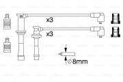 Комплект высоковольтных проводов зажигания BOSCH 0986356966