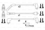 Комплект высоковольтных проводов зажигания BOSCH 0986356988