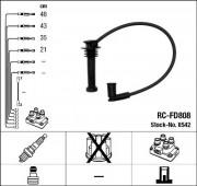Комплект высоковольтных проводов зажигания RCFD808 NGK 8542