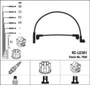 Комплект высоковольтных проводов зажигания RCLD301 NGK 7068