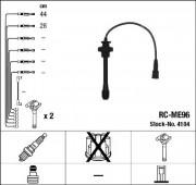 Комплект высоковольтных проводов зажигания RCME96 NGK 4104