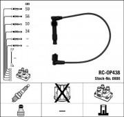 Комплект высоковольтных проводов зажигания RC-OP438 NGK 0808