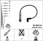 Комплект высоковольтных проводов зажигания RCVW1110 NGK 44316