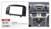 Переходная рамка Carav 11-067 Hyundai NF, Sonata, Sonica 2004-2008, 2 DIN
