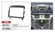 Переходная рамка Carav 11-068 Hyundai Sonata, NF, Sonica 2004-2008, 2 DIN