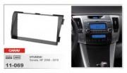 Переходная рамка Carav 11-069 Hyundai Sonata NF 2008-2010, 2 DIN