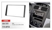 Переходная рамка Carav 11-072 Kia Cerato LD (2004-2008), 2 DIN