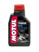 Motul Минеральное мотоциклетное трансмиссионное масло Motul Transoil 10W-30 (1л)