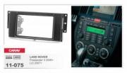 Переходная рамка Carav 11-075 Land Rover Freelander II 2006+, Lr 2 2007+, 2 DIN
