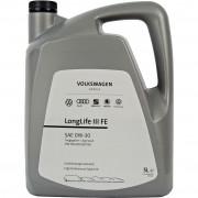 Оригинальное моторное масло VAG LongLife III FE 0W-30 GS55545M2 / GS55545M4
