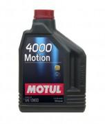Motul Моторное масло Motul 4000 Motion 10W30