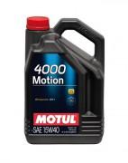 Моторное масло Motul 4000 Motion 15W40