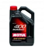 Motul Моторное масло Motul 4100 Multi Diesel 10W40